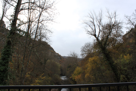 Río Ebro en Orbaneja del Castillo